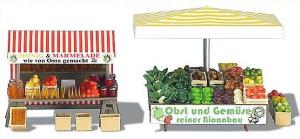 Busch 1071 groenten en fruitkraam