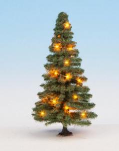 22121 Noch kerstboom met verlichting