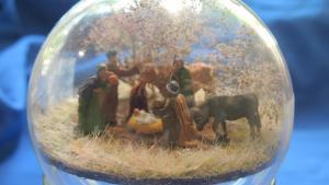 idee kerstdecoratie met Noch figuren