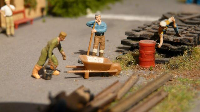 Spoorwegarbeiders